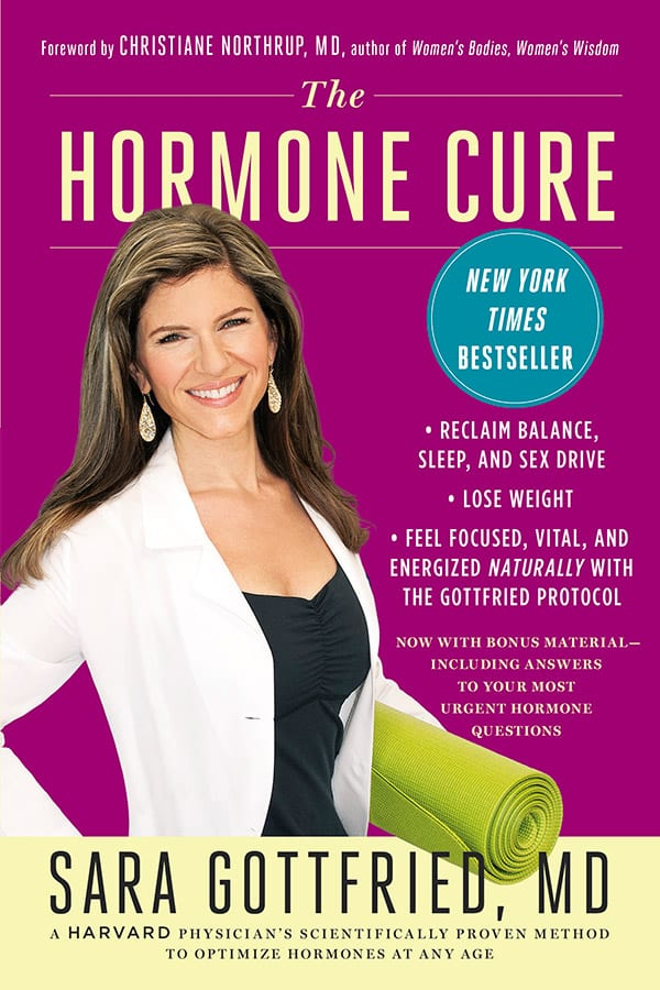 Sara Gottfried Hormone Cure Book Cover